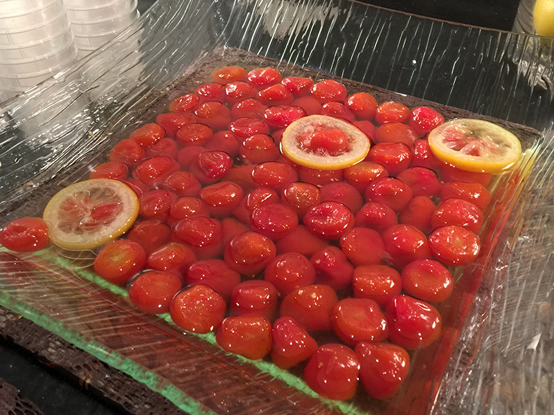 ミニトマトのレモン煮