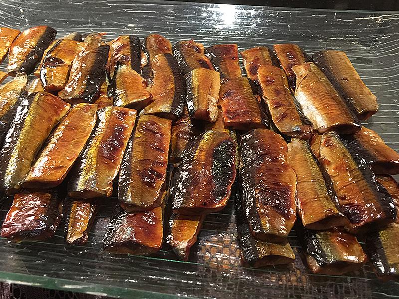 秋刀魚の柚庵焼き