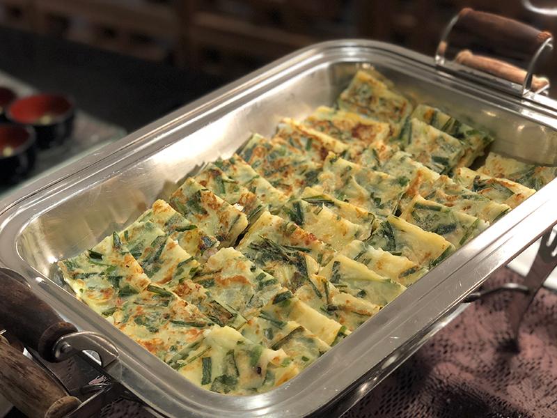 チヂミ(韓国風お好み焼き)