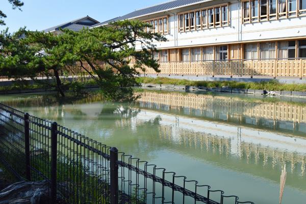 水練池 (旧萩藩校明倫館)