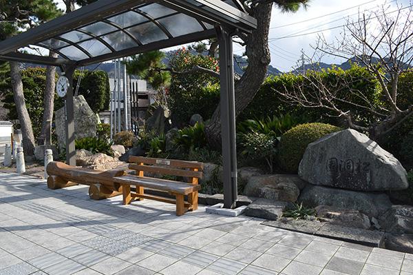 萩循環まぁーるバス松陰神社前停留所