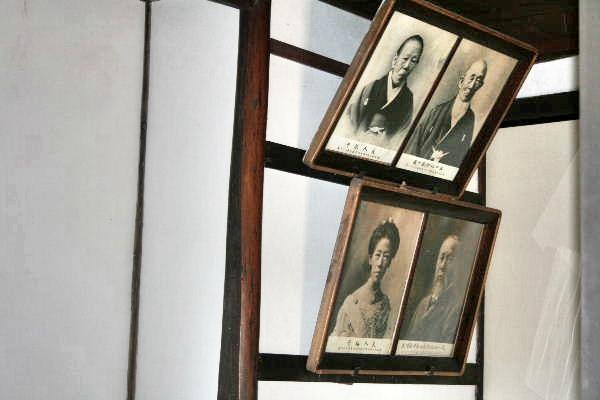 伊藤博文旧宅内の写真