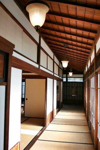伊藤博文別邸廊下