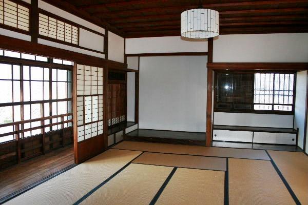 伊藤博文別邸部屋