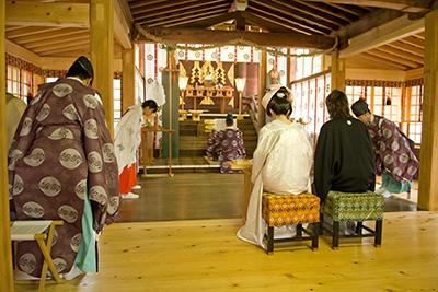 松陰神社挙式プラン