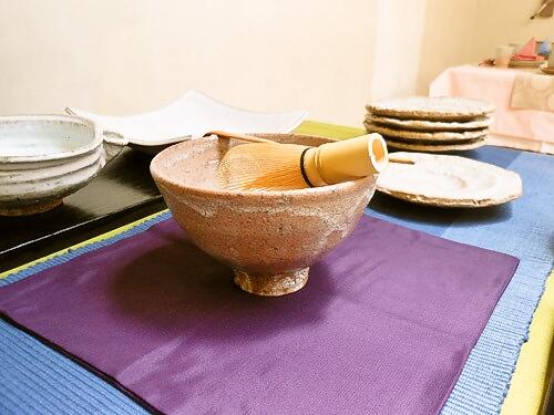 萩焼まつり抹茶碗