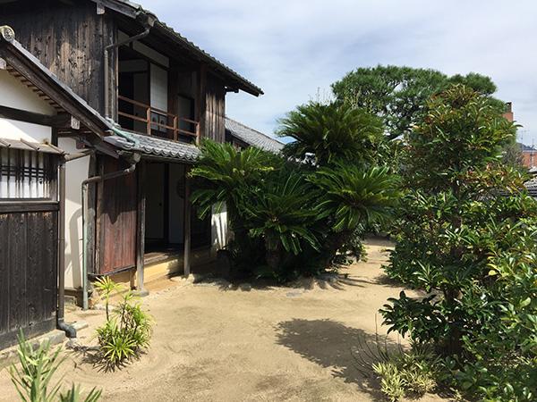 木戸孝允旧宅 庭園・二階