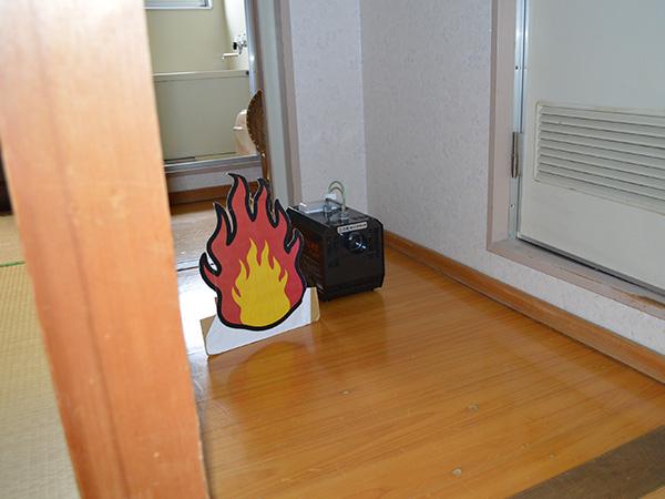 消防訓練スモークマシン