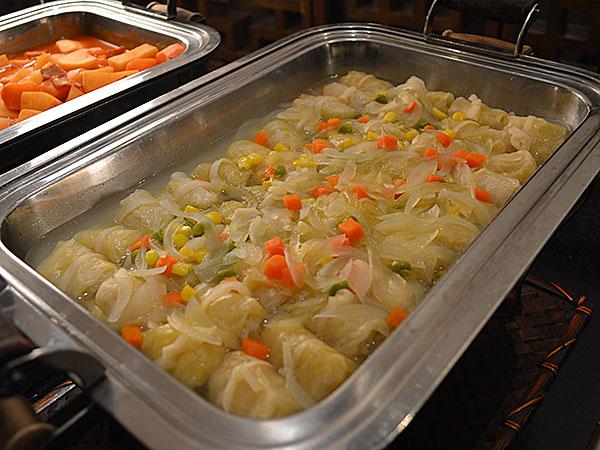ロールキャベツオニオンスープ煮