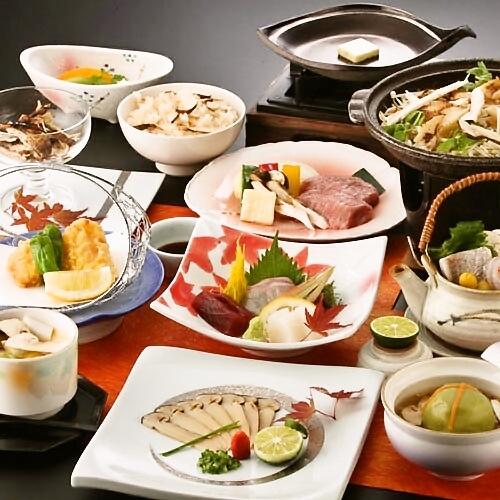 8種類の松茸づくしと和牛ステーキ&ふぐの秋の味覚祭