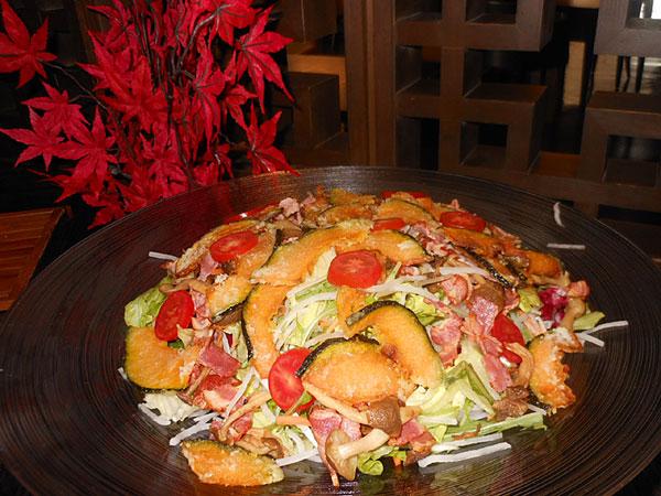 南瓜サラダ