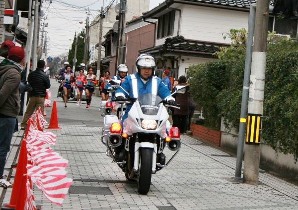 萩城下町マラソン1