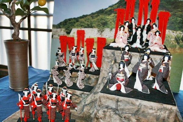 萩人形展1