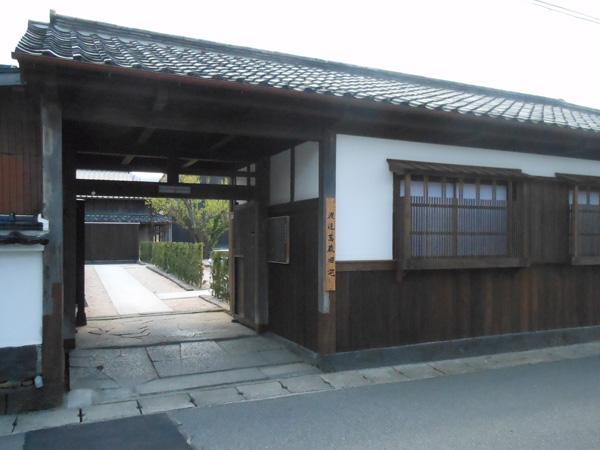 渡辺蒿蔵旧宅玄関