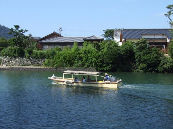 萩八景遊覧船1
