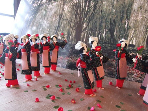 萩人形展椿群生林