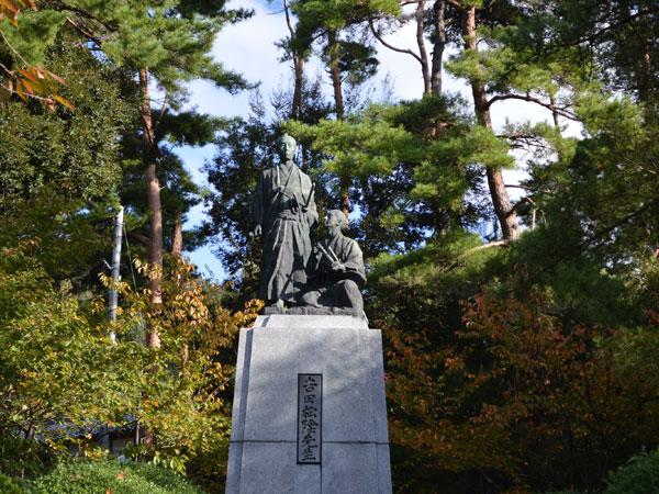 吉田松陰銅像