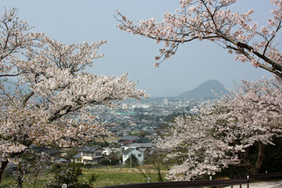 吉田松陰誕生地からの眺め