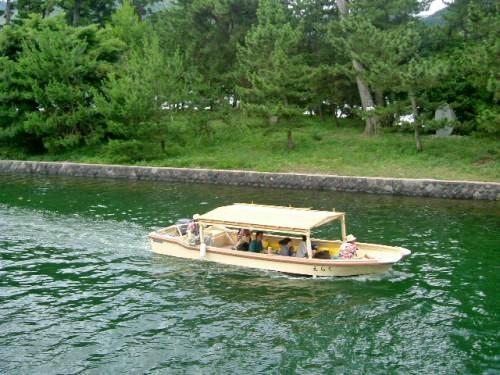 萩八景 遊覧船